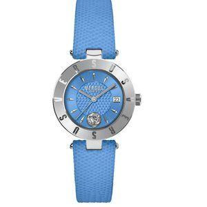 Versace Versus Blue + Steel Ladies 34mm Watch!